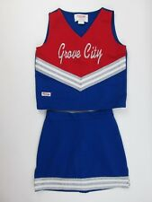 Cheerleader Uniform Outfit Grove City Fun Cheer Costume Red White Blue Child