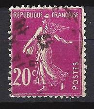 France 1924 type semeuse fond plein Yvert n° 190 oblitéré 1er choix (3)