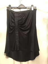 Authentic Dolce & Gabbana Ladies Black Designer Skirt, Size 10