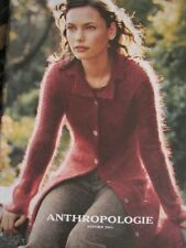 VERY RARE Anthropologie 2001 Mohair Sweatercoat Cardigan Sweater Coat 8 10 M