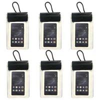 6x Smartphone Brustbeutel Handytasche Umhängebeutel Smartphone Handy Schutzhülle