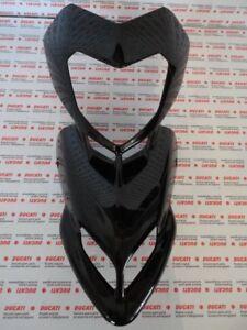 Cupolino Becco verkleidung Front fairing Ducati Hypermotard 1100 nero lucido
