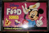 1994 DISNEY FUNNY FOOD SONGS CASSETTE TAPE 15  Deliciously delightful Tunes Look