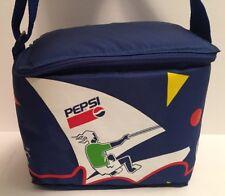 Vintage 1996 PEPSI Cola Blue Lunch Shoulder Strap Bag RARE Shoppers Drug Mart