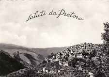 # PRETORO: SALUTI DA