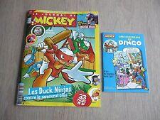 LE JOURNAL DE MICKEY  N° 3547   DU  10 JUIN 2020  /  LES  DUCK  NINJAS