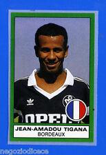 CALCIATORI PANINI 1987-88 - Figurina-Sticker n. 548 - TIGANA - BORDEAUX -Rec