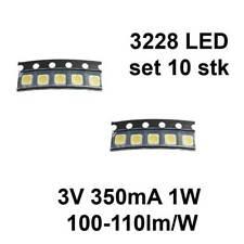 Hintergrundbeleuchtung Streifen Led für Samsung 3228 3V 350MA 1W set 10stk