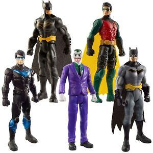 """Batman Missions 6""""-inch / 15 cm Figure (Pick Batman, Robin, Joker, or Nightwing)"""