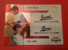 BRAD MILLER & WILL LAMB (SP) RC WINNING COMBOS #6 * 2011 PLAYOFF CONTENDERS MLB
