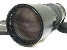 [Top Mint No Scuffs] MINOLTA NEW MD NMD 300mm F4.5 MF Telephoto Lens From JAPAN