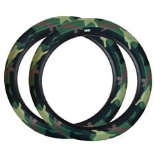 "Pair of Cult Vans BMX Tyres - Camo with Black Sidewall - 20"" x 2.40"""