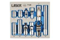 Q1 Sale Laser Tool 7148 Master Socket Set 13mm X 11Pce In storage foam holder