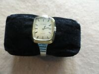 Swiss Made Tissot Stylist Vintage Mechanical Wind Up Ladies Watch
