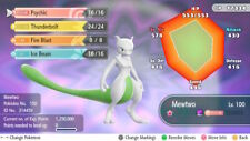 Pokemon Let's Go Shiny Mewtwo Max 6IV / AV [Fast Delivery] Original Owner