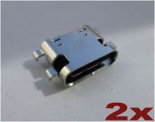 x2 Micro USB Type-C Power Connector Charging Port for ZTE Grand X Max 2 Z988 OEM