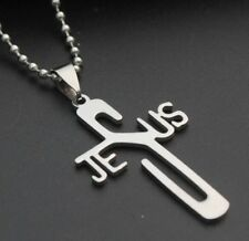 JESUS CROSS NECKLACE OTHER RELIGIOUS CHRISTIAN INSPIRATIONAL ITEMS ARE LISTED