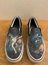 Vans Star Wars Slip On Shoes A New Hope Men's Size 6 Women 7.5
