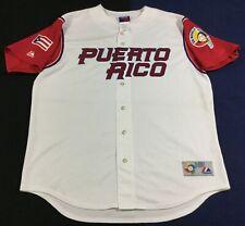 Puerto Rico Baseball World Baseball Classic 2006 Majestic Jersey SizeXL