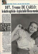 Coupure de presse Clipping 1991 Yvonne De Carlo (3 pages)