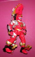 Power Rangers Dinothunder Red Zord Morphin Ranger Tyranosaurus