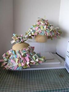 Easter Spring Bonnet Karen Keith Custom Designed Boiled Felt Folding Panama Hat
