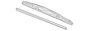 Genuine GM Wiper Blade 15192144