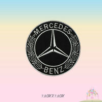 Mercedes Benz Car Brand Logo Motor Sport Embroidered Iron On Patch Sew On Badge