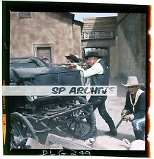 "1969 Original 2.25 Transparency Actor TELLY SAVALAS ""LAND RAIDERS"" MOVIE WESTERN"