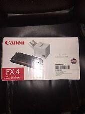 Genuine NEW Canon FX4 Black Toner Cartridge Sealed