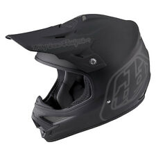 "New Troy Lee Designs AIR ""Midnight 2"" Matte Black XL / Extra Large MX Helmet TLD"