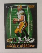 1996 Pinnacle Double Disguise #11 Brett Favre - Kerry Collins