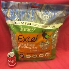Fresh British Long Stem Feeding Hay 1KG Dust Free High Fibre Low Protein 100%