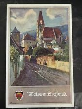 1918 Vienna Austria Picture postcard Cover To Tattendorf City View