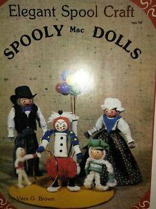 Elegant Spool Dolls Craft Book