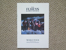 PROGRAM THE FUREYS & DAVEY ARTHUR WORLD TOUR OFFICIAL SOUVENIR AUSTRALIA 1988