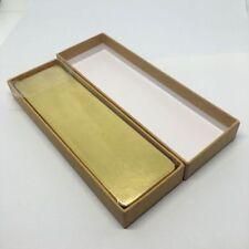 Retro Brass Pencil Box Pen Pencil Case Holder Stationery Box Storage