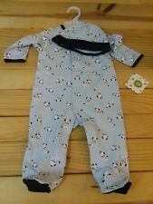 NWT LITTLE ME INFANT BOYS TWO PIECE FOOTIES SET SIZE 6 MONTHS