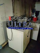 "New Michelob Ultra Neon Light Sign 20""x16"" Beer Bar Man Cave Artwork Glass"