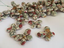 Howlite Butterfly Beads