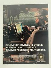 U.S. Army Believing In Yourself Is Strong 2007 Print Ad