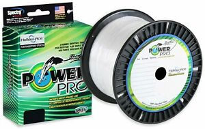 PowerPro Hollow Ace Spectra Fishing Braided Line - 1500 Yards- White - Pick Test