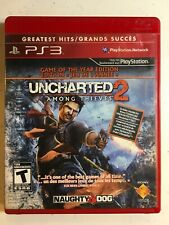 Uncharted 2: Among Thieves -- Game of the Year Edition (PS3) No Manual