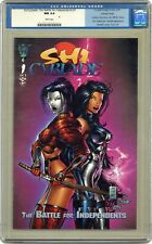Shi Cyblade The Battle for Independents 1B Tucci Variant CGC 9.4 1995 0105084015