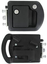 T507 RV Designer Trimark Entrance Door Lock Black 060-1650 with Dead Bolt New