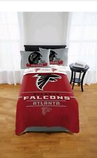 NFL Atlanta Falcons Monument 5pc Full Sheet Set & Comforter Bedding Collection