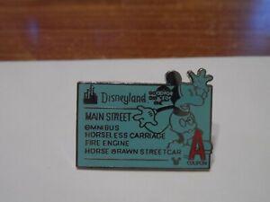 Disneyland Resort E-Ticket Global Lanyard Disney Trading Pin - A Ticket!