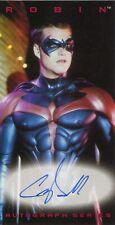 Skybox Batman & Robin Autograph Card Chris O'Donnell As Robin
