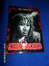 """2012 BREYGENT DEAD WORLD ZOMBIE CARD """" DAN CAPTURED  """" #17"""