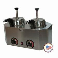 Nacho Cheese Dispenser Warmer Paragon 2029C Frontside Heated Spout Hot Fudge